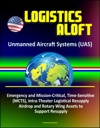 Logistics Aloft - Unmanned Aircraft Systems UAS Emergency And Mission-Critical Time-Sensitive MCTS Intra-Theater Logistical Resupply Airdrop And Rotary Wing Assets To Support Resupply