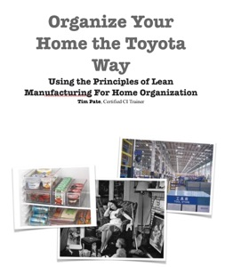 Organize Your Home the Toyota Way Book Cover