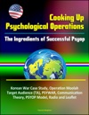 Cooking Up Psychological Operations The Ingredients Of Successful Psyop - Korean War Case Study Operation Moolah Target Audience TA PSYWAR Communication Theory PSYOP Model Radio And Leaflet