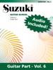 Suzuki Guitar School - Volume 6