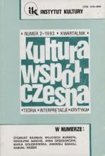 Kultura Współczesna 2/1993