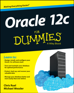 Oracle 12c For Dummies La couverture du livre martien