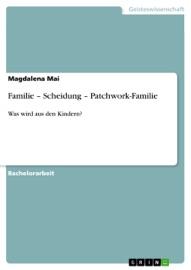 Familie Scheidung Patchwork Familie
