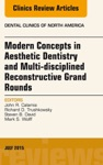 Modern Concepts In Aesthetic Dentistry And Multi-disciplined Reconstructive Grand Rounds An Issue Of Dental Clinics Of North America E-Book