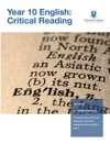 Year 10 English Critical Reading