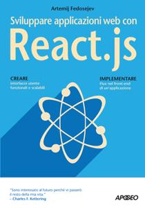 Sviluppare applicazioni web con React.js Copertina del libro