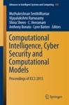 Computational Intelligence Cyber Security And Computational Models