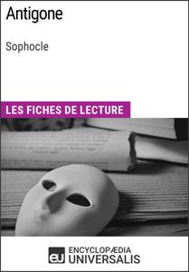 Antigone de Sophocle La couverture du livre martien
