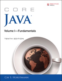 CORE JAVA VOLUME I--FUNDAMENTALS, 10/E