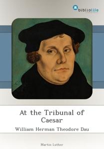 At the Tribunal of Caesar Book Cover
