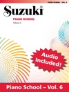Suzuki Piano School - Volume 6