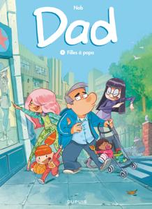 Dad - Tome 1 - Filles à papa La couverture du livre martien