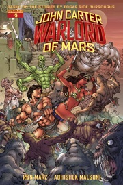 JOHN CARTER: WARLORD OF MARS #5