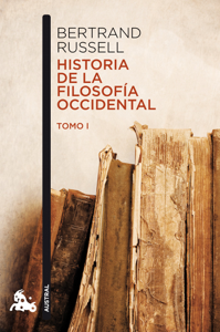 Historia de la filosofía occidental I Book Cover