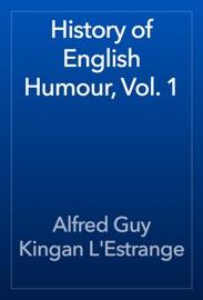 History Of English Humour Vol 1