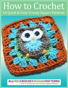 How to Crochet: 16 Quick and Easy Granny Square Patterns Book Review