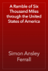 Simon Ansley Ferrall - A Ramble of Six Thousand Miles through the United States of America artwork