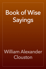 Book of Wise Sayings book