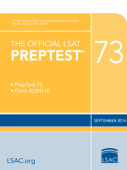 The Official LSAT PrepTest 73