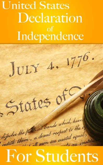The Declaration Of Independence Of The United States Of America With