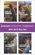 Harlequin Romantic Suspense May 2015 Box Set