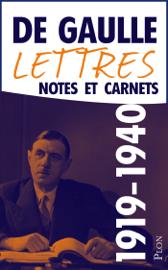 Lettres, notes et carnets: 1919-1940