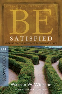 Be Satisfied (Ecclesiastes) Book Cover