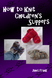 How to Knit Children's Slippers book