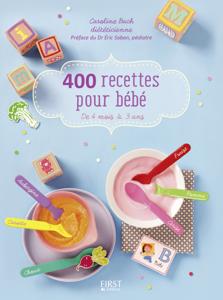 400 recettes pour bébé Couverture de livre