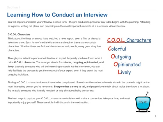 Interview an Expert on Apple Books