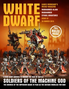 White Dwarf Issue 61: 28th March 2015 Book Cover