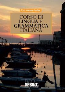 Corso di lingua e grammatica italiana Copertina del libro