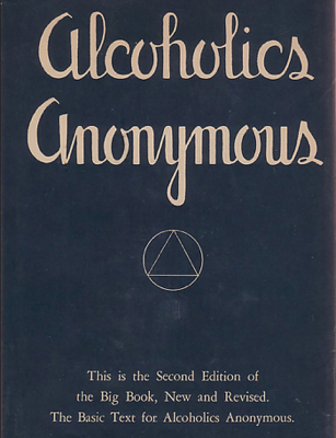 Alcoholics Anonymous - Big Book - AA World Services book