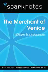 The Merchant of Venice (SparkNotes Literature Guide) Libro Cover