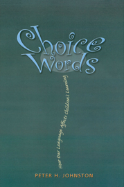 Choice Words book