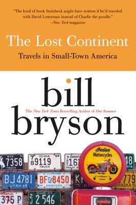 The Lost Continent - Bill Bryson book