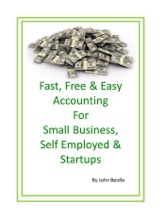 Fast, Free & Easy Accounting for Small Business, Self-employed and Startups