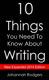 10 Things You Need to Know About Writing