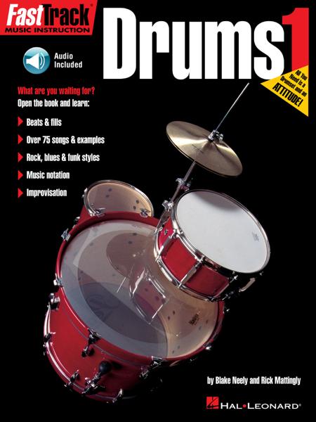 FastTrack Drums Method - Book 1