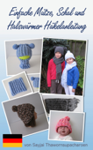 Einfache Mütze, Schal und Halswärmer Häkelanleitung