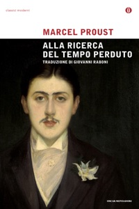 Alla ricerca del tempo perduto di Marcel Proust Copertina del libro