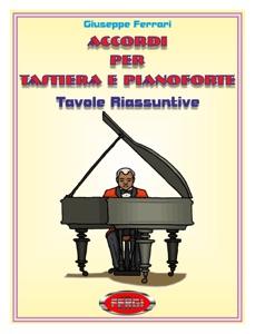 Accordi per tastiera e pianoforte da Giuseppe Ferrari