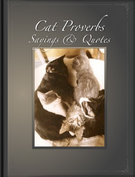 Cat Proverbs, Sayings & Quotes