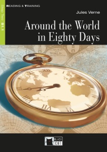 Around the World In Eighty Days Book Cover