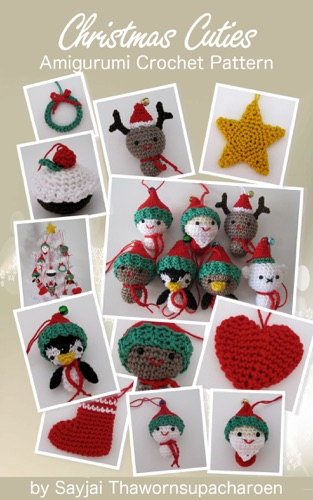 Download Christmas Cuties Amigurumi Crochet Pattern free by