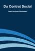 Jean-Jacques Rousseau - Du contrat social artwork