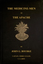The Medicine-Men Of The Apache; Ninth Annual Bureau Of Ethnology Report: 1888