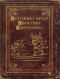 Bestiario delle creature impossibili Copertina del libro