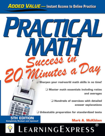Practical Math Success in 20 Minutes a Day book