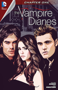 The Vampire Diaries #1 Boekomslag